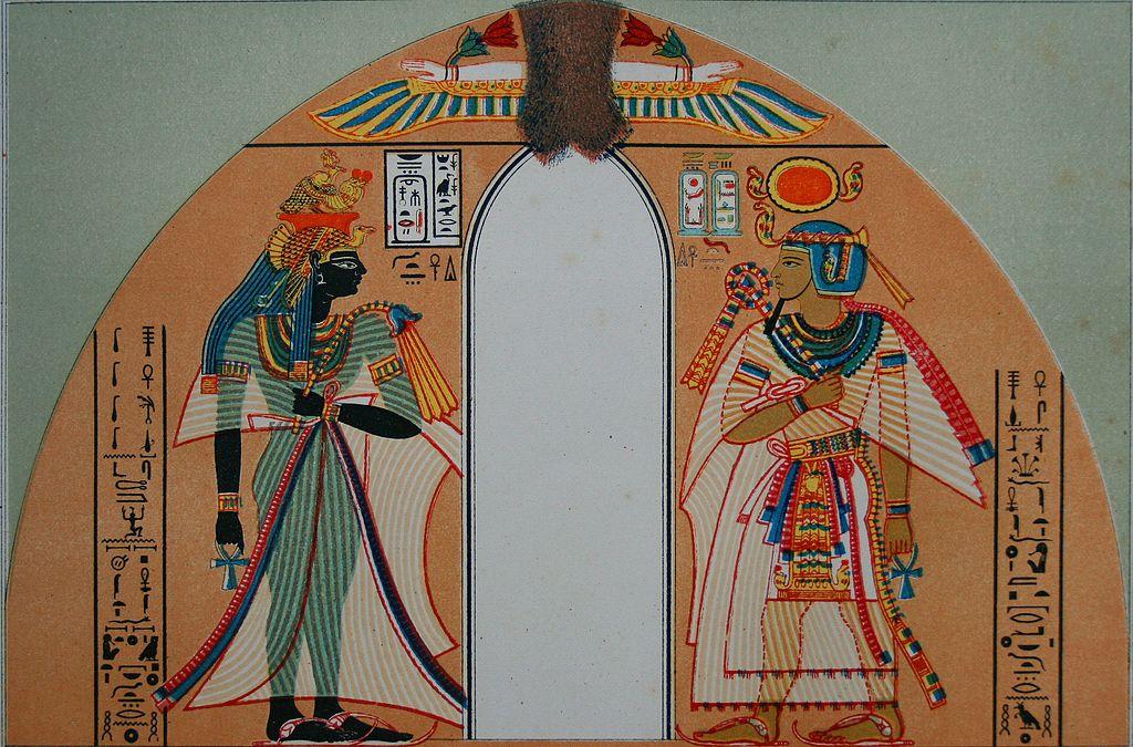 Amenhotep_I et sa femme.jpg