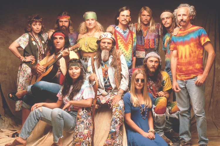 Rencontre entre hippies