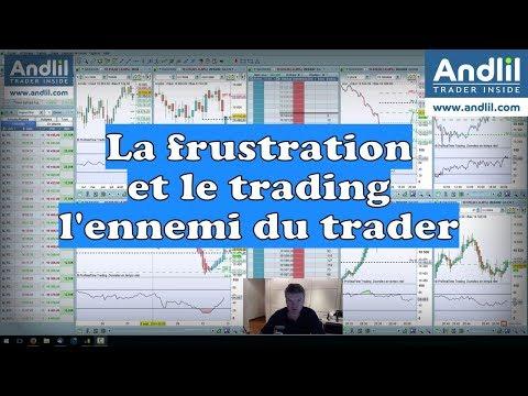 La frustration et le trading, l'ennemi du trader