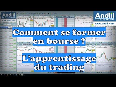 Comment se former en bourse et se former au trading ? Débuter en bourse et apprendre la bourse