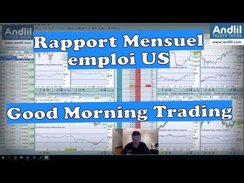 Rapport Mensuel emploi USA Good Morning Trading Benoist