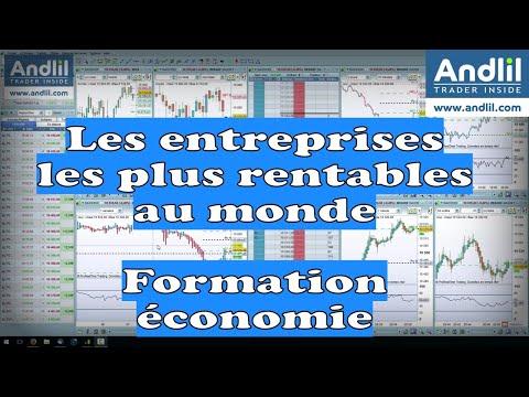 Les entreprises les plus rentables au monde par Benoist Rousseau - Andlil.com