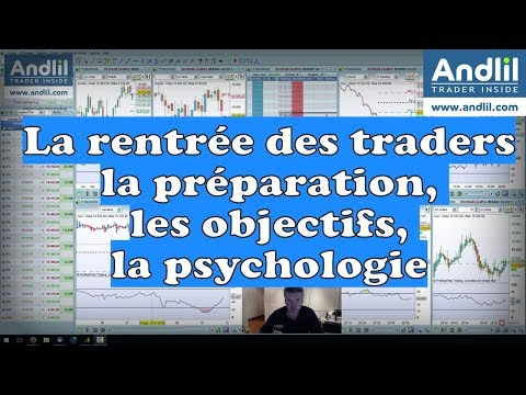 La rentrée des traders : la préparation, les objectifs, la psychologie