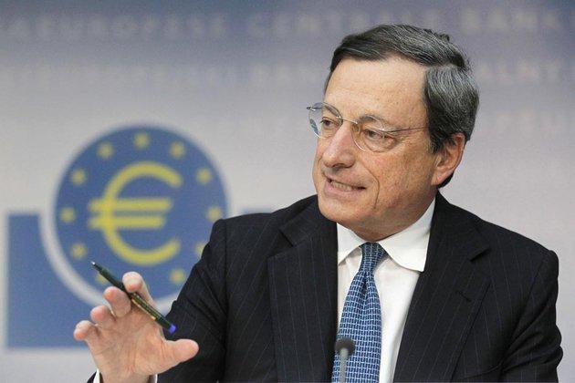 Le 3ème président de la BCE Mario Draghi