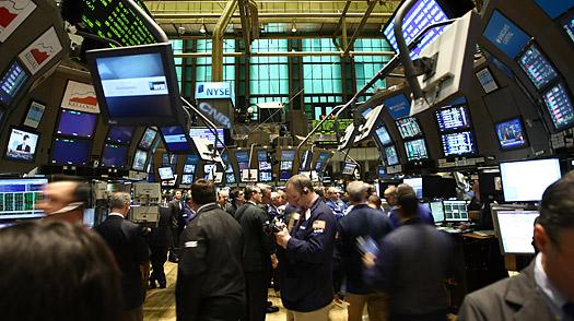 Salle de marché du NYSE