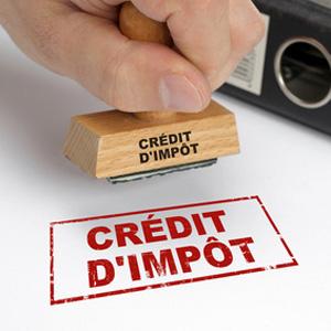 crédit d impôt