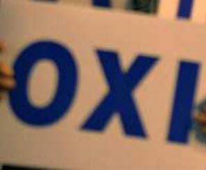 Le Non grec OXI