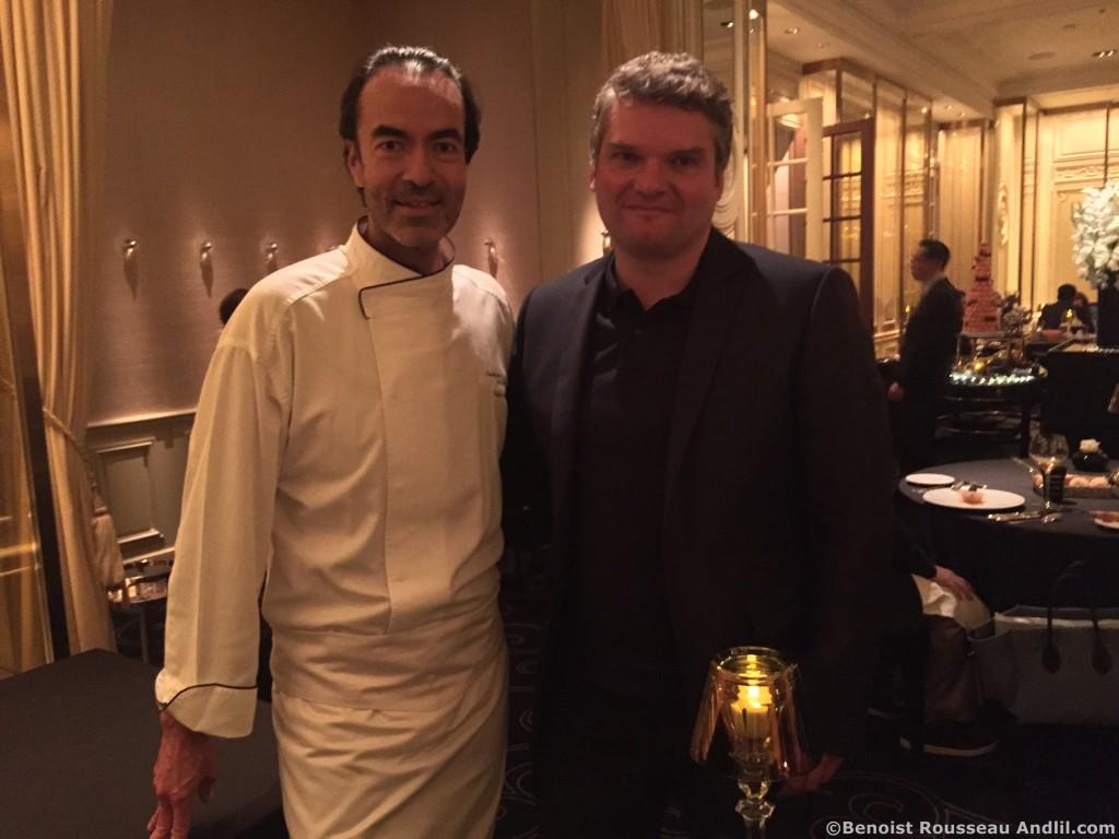 Alain Verzeroli et Benoist Rousseau