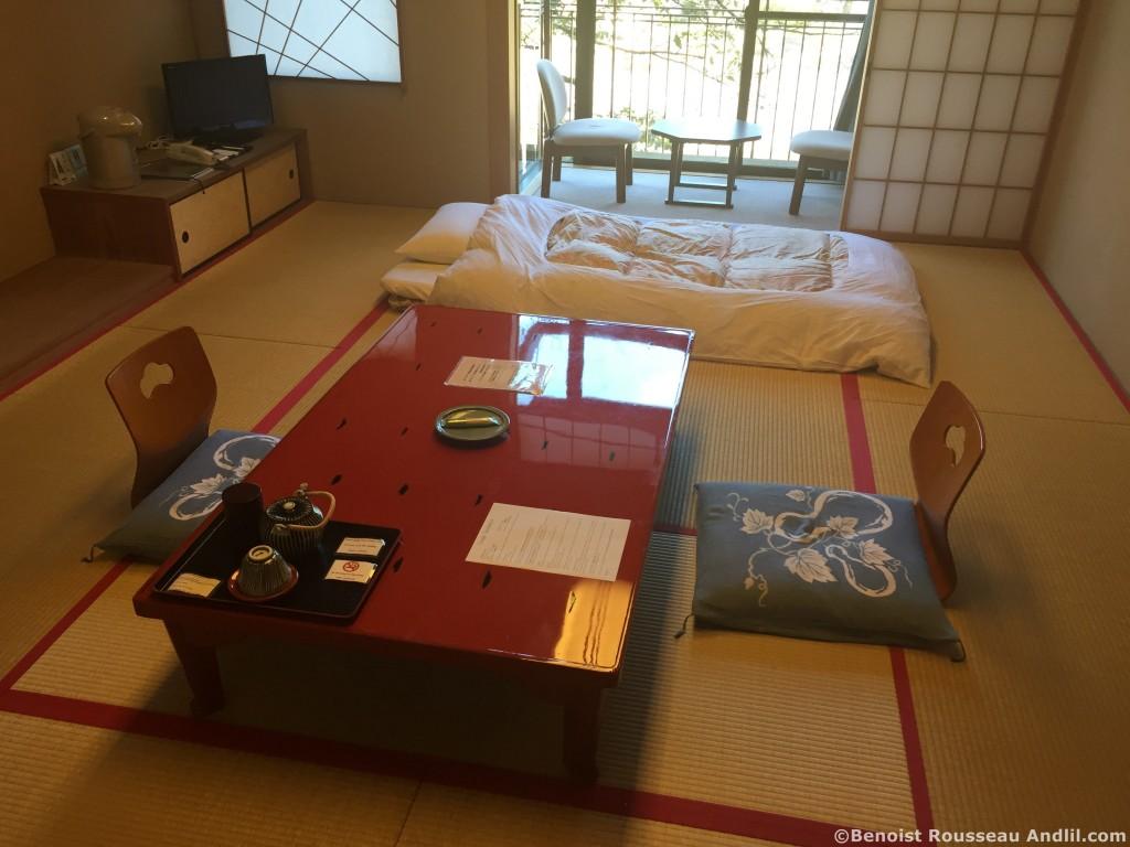 Chambre Hôtel Japon à Ugi