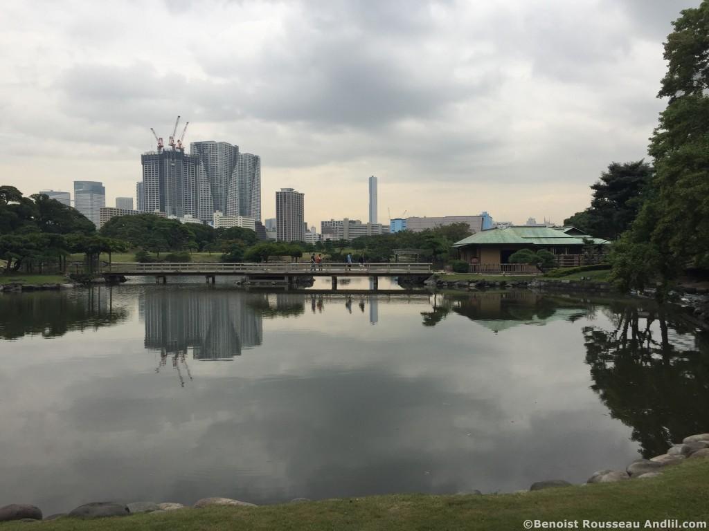 Un parc à Tokyo