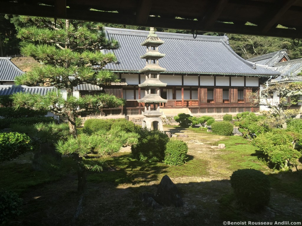 Temple Zen à Ugi