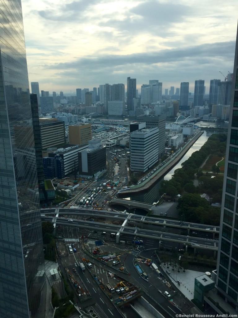 Vue Hotel à Tokyo