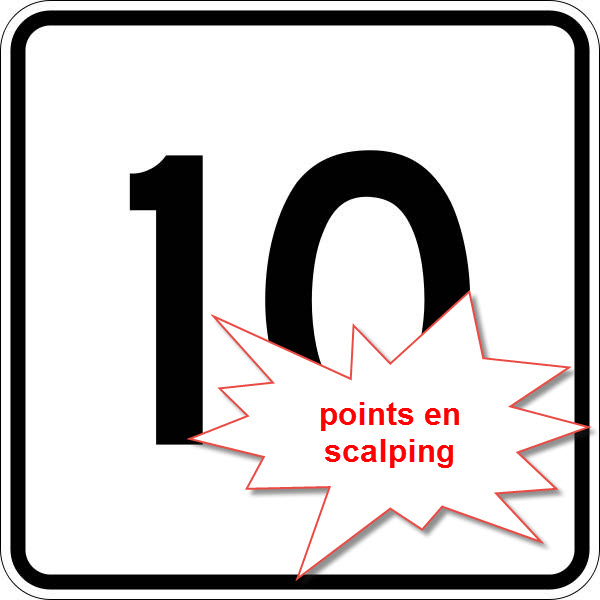 10 points en scalping
