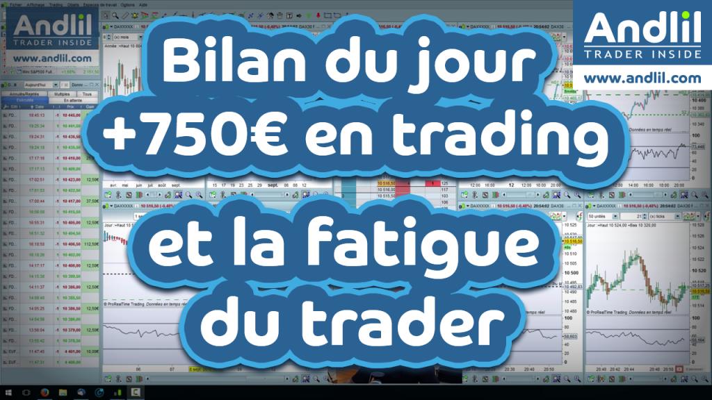 La fatigue dans le trading