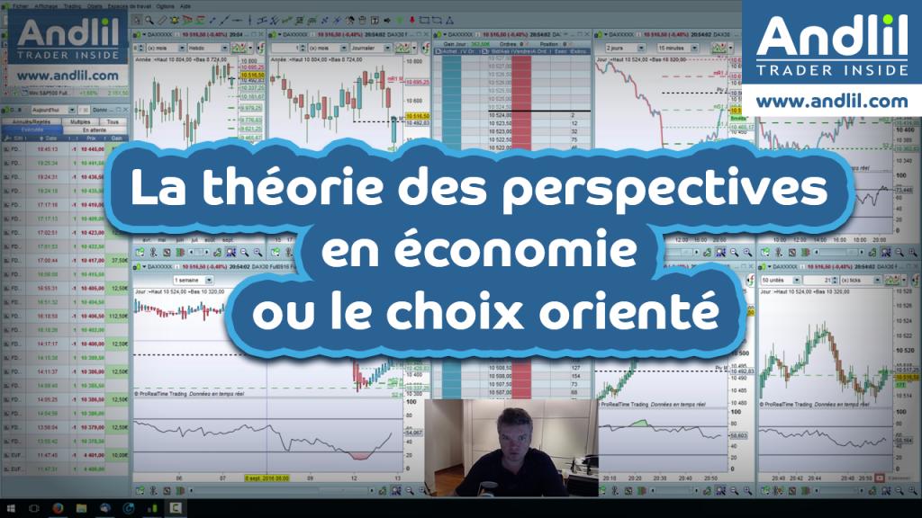 La théorie des perspectives en économie ou le choix orienté