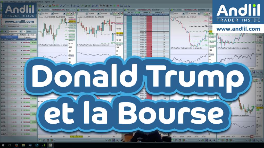 donald trump bourse