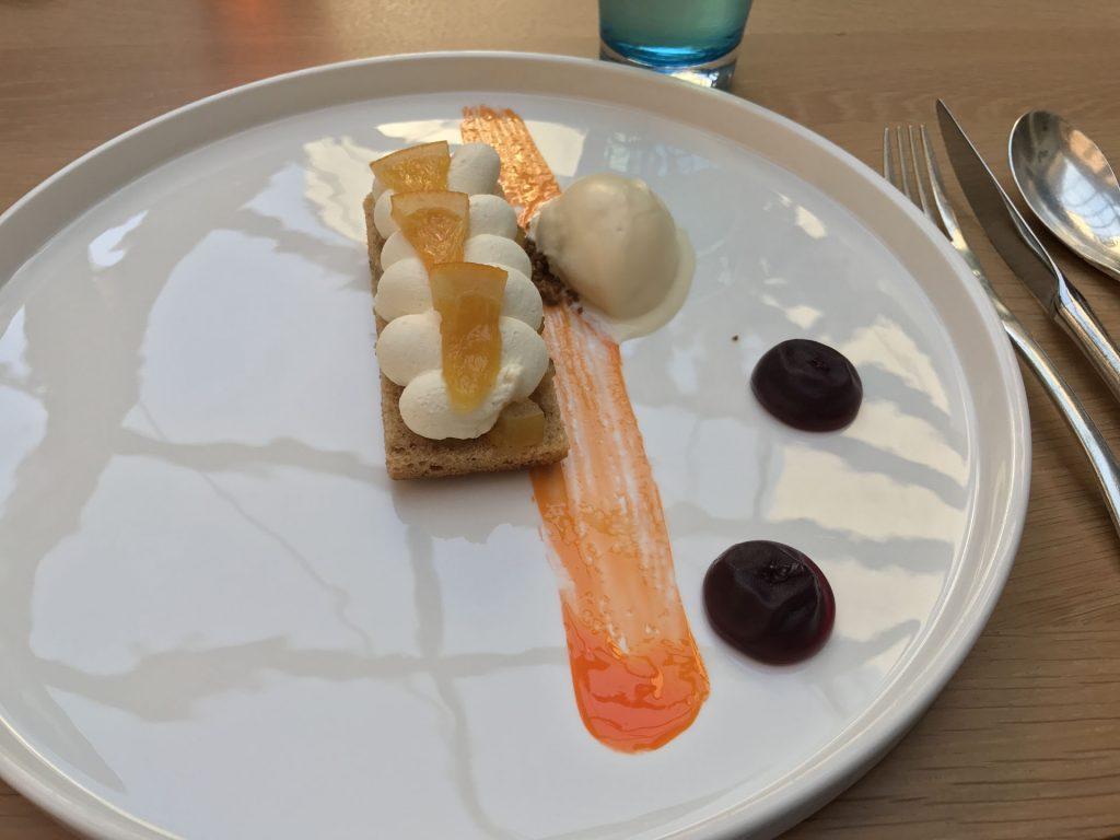 Dessert du restaurant les jardins de l 39 op ra - Stephane tournie les jardins de l opera ...