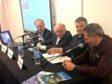 Pascal Birenzweigue du magazine ActionFuture avec les Conférenciers Olivier Anger, Philippe Béchade et Benoist Rousseau