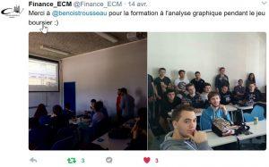 Tweet École Centrale de Marseille
