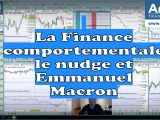 La Finance comportementale le nudge et Emmanuel Macron 160x120