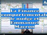 La Finance comportementale le nudge et Emmanuel Macron 160x120