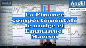La Finance comportementale le nudge et Emmanuel Macron 300x169