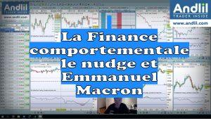 La Finance comportementale le nudge et Emmanuel Macron 300x169