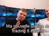 station de trading 8 écrans 160x120