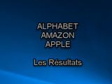 Amazon Apple Alphabet les résultats