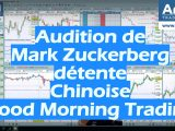 Audition de Mark Zuckerberg détente Chinoise Good Morning Trading 160x120
