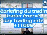Débriefing du trading trader énervé day trading raté 160x120