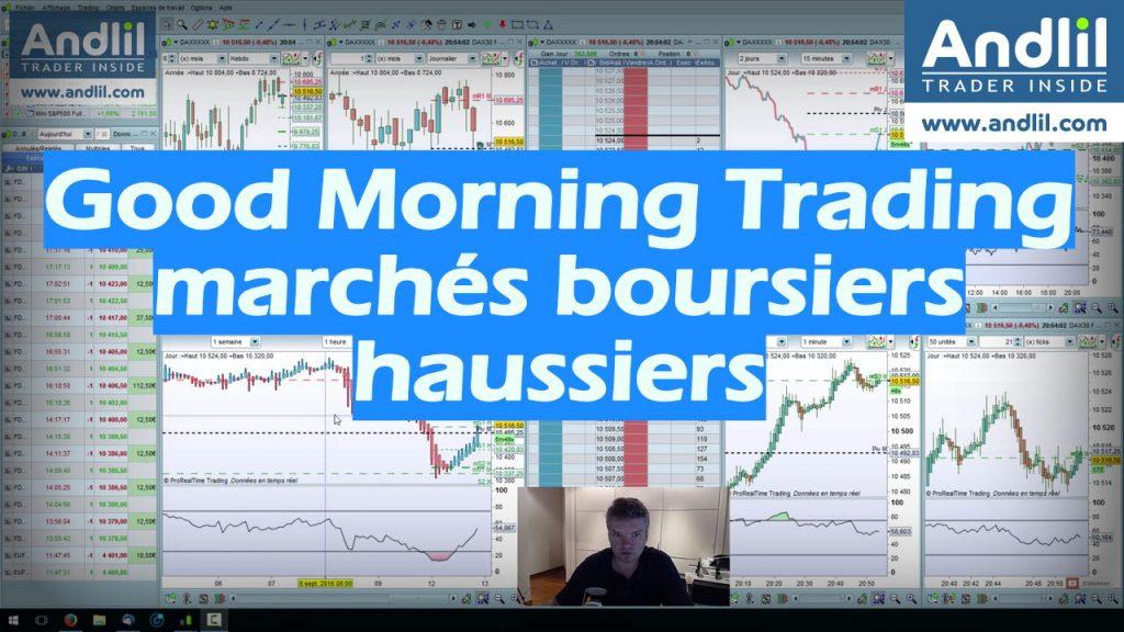 marché boursiers haussiers