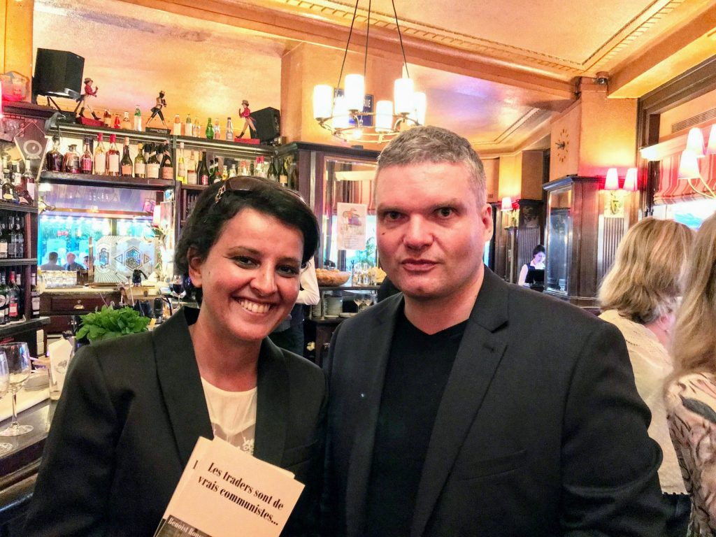 Najat Vallaud Belkacem et Benoist Rousseau