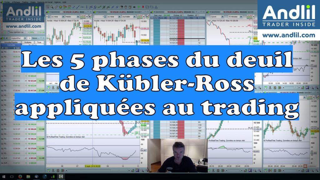 Les 5 phases du deuil de Kübler Ross appliquées au trading