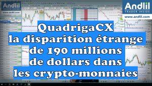 QuadrigaCX ou la disparition étrange de 190 millions de dollars dans les crypto monnaies 300x169