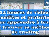 14 heures de vidéos inédites et gratuites pour apprendre à trader et trouver sa méthode trading 160x120