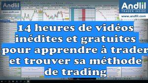14 heures de vidéos inédites et gratuites pour apprendre à trader et trouver sa méthode trading 300x169
