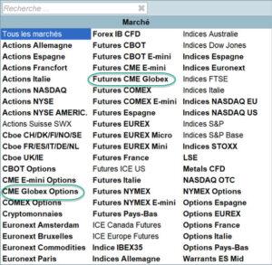 CME Futures et Options Globex 1 300x293